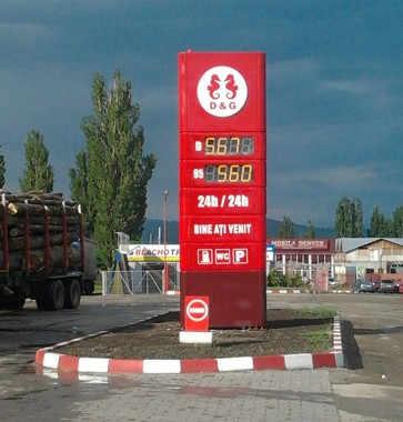 Totem benzinarie Onesti