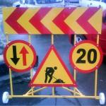 semnalizare reparatii drumuri